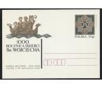 Polsko FDC ** - 1000. výročí smrti sv. Vojtěcha 1997