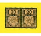 ČSR I - Kolky č. 28/1938 20 h