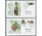 Německo FDC (•) - Ochrana přírody - perlorodka 2002