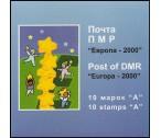 Pridněstrovská republika (PMR) ZS ** - Europa CEPT 2000