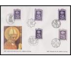 ČR, Polsko, Vatikán, Maďarsko, Německo - kombinované FDC ** - 1000. výročí smrti sv. Vojtěcha 1997
