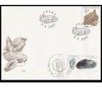 Česká republika, Německo FDC ** - Ochrana přírody - perlorodka 2002